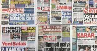 روزنامههای امروز ترکیه