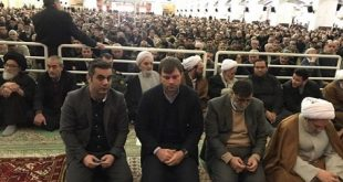سرمربی ترکیهای تراکتور در نماز جمعه تبریز