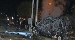 17 مهاجر ایرانی در تصادف مینیبوس در ترکیه جان باختند