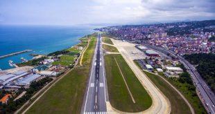 بسته شدن اضطراری فرودگاه ترابوزان ترکیه