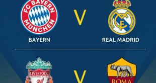 قرعه کشی مرحله نیمه نهایی لیگ قهرمانان اروپا