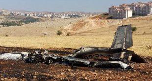هواپیمای آموزشی در ترکیه سقوط کرد