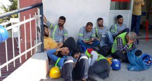 ۲۵۰ کارگر در ازمیر مسموم شدند