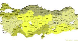 بزرگترین استان ها وجمعیت ترکیه