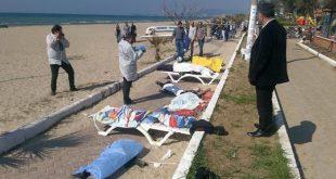 جان باختن 9 مهاجر غیرقانونی در سواحل ترکیه