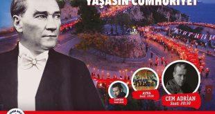 جشنسالگرد تاسیس جمهوری ترکیهدر آنتالیا