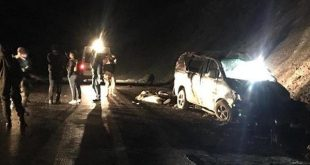 واژگونی خودروی حامل مهاجرین غیر قانونی درترکیه