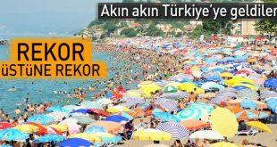 سی و دو میلیون گردشگر خارجی به ترکیه سفر کردند