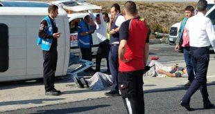 ده زخمی در تصادف در فرودگاه آتاترک استانبول