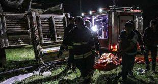 5 مهاجر غیرقانونی در وان ترکیه کشته شدن