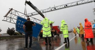 خسارت طوفان در شمال ترکیه