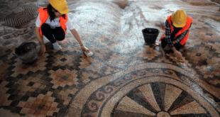 بزرگترین اثر باستانی موزاییکی جهان در ترکیه