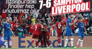 جشن قهرمانی تیم فوتبال لیورپول دراستانبول