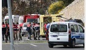 تصادف اتوبوس در استانبول