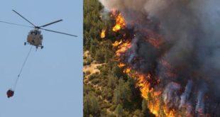 سومین روز اتش سوزی ها در جنگل های ترکیه