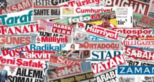 مهمترین عناوین امروز روزنامههای ترکیه