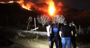 آتش سوزی در اراضی بدروم ترکیه