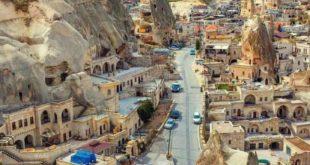 حفظ بی نظیر بافت باستانی سرزمین باستانی کاپادوکیه در ترکیه