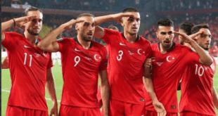 احتمال جریمه سنگین ترکیه از سوی یوفا بابت سلام نظامی بازیکنان این تیم