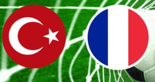 تیم ملی فوتبال فرانسه برابر ترکیه با تساوی یک بر یک به پایان رسید