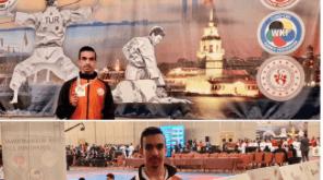 کاراته کای کرمانی قهرمان مسابقات ترکیه شد