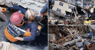افزایش شمار جان باختگان زلزله در ترکیه