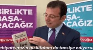 شهردار استانبول کتاب ایرانی را برای خواندن معرفی کرد