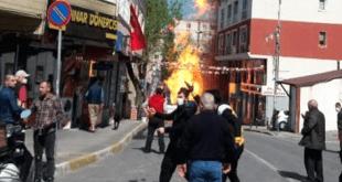 انفجار لوله گاز در استانبول