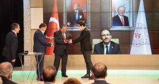 جایزه برترین ورزشکاران سال ترکیه به ۲ کشتیگیر رسید