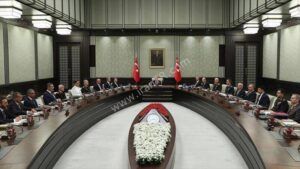 اولین نشست شورای امنیت ملی ترکیه در سال جدید