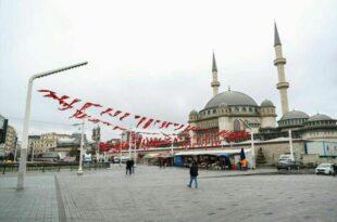 مسجد تکسیم استانبولافتتاح می شود