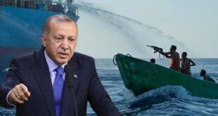 حمله دزدان دریایی به کشتی ترکیه در نیجریه