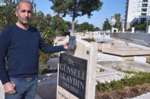 سیستم کد هوشمند در سنگ قبرهای آنتالیا