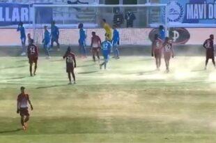 فوتبال سوپرلیگ ترکیه در دمای ۷ درجه زیر صفر