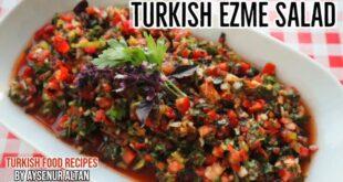 تهیه سالاد ازمه ترکیه