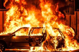 زنده زنده سوختن زن ایرانی در آتش سوزی مشکوک در خودرو ، ترکیه
