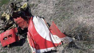 سقوط جنگنده ترکیه در استان قونیه