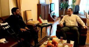 دیدار رئیس فدراسیون کشتی با سرکنسول ایران در استانبول