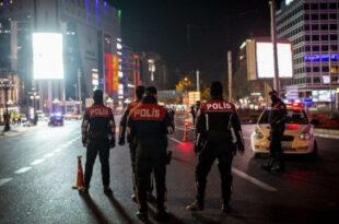 آغاز منع رفت و آمد در ترکیه
