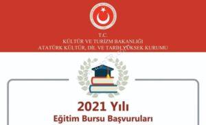 Türkiye Burs Duyurusu 2021