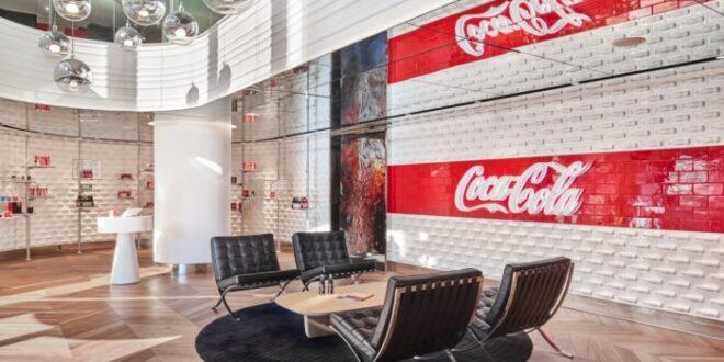 طراحی دفتر کار کولا در استانبول