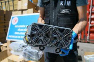 توقیف 501 دستگاه تولید ارز در ازمیر