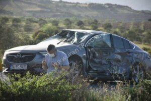 نماز شکر مرد ترکیهای پس از یک تصادف سنگین رانندگی