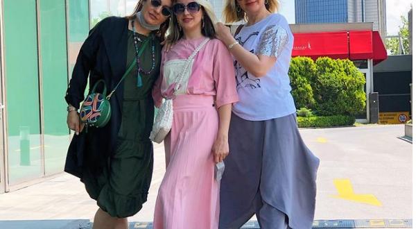 مهناز افشار و خانواده اش در استانبول!