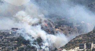 آتش سوزی در هاتای رخ داد