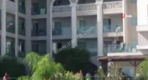 آتشسوزی هتل در آنتالیای ترکیه