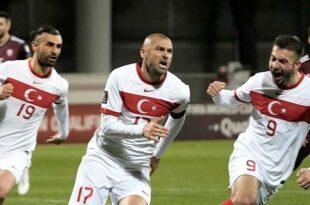 ترکیه لتونی را با نتیجه 2-1 شکست داد